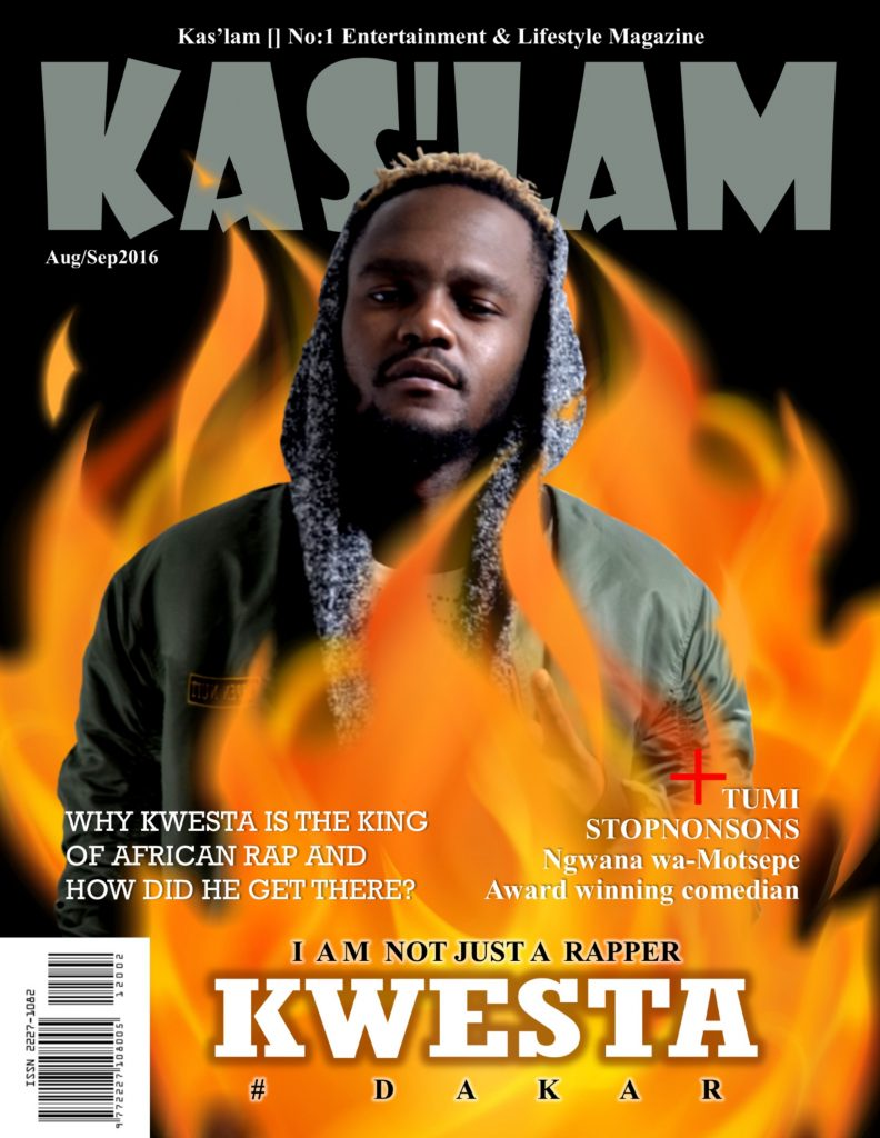 "1 1 792x1024 - ""That's how I got my Name and Fame"" -Kwesta: The full Story"