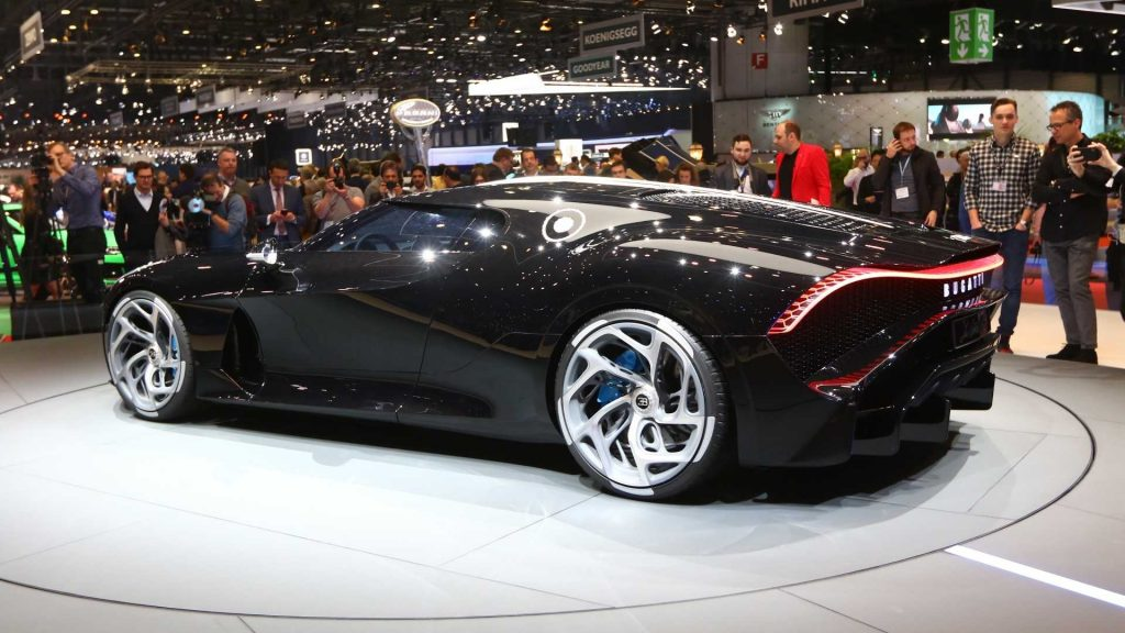 bugatti la voiture noire 1 1024x576 - The most expensive car in the world: Bugatti la voiture noire