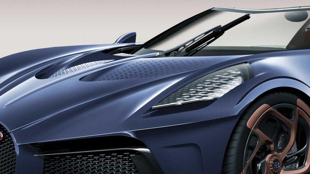 bugatti la voiture noire roadster rendering 1 1024x576 - The most expensive car in the world: Bugatti la voiture noire