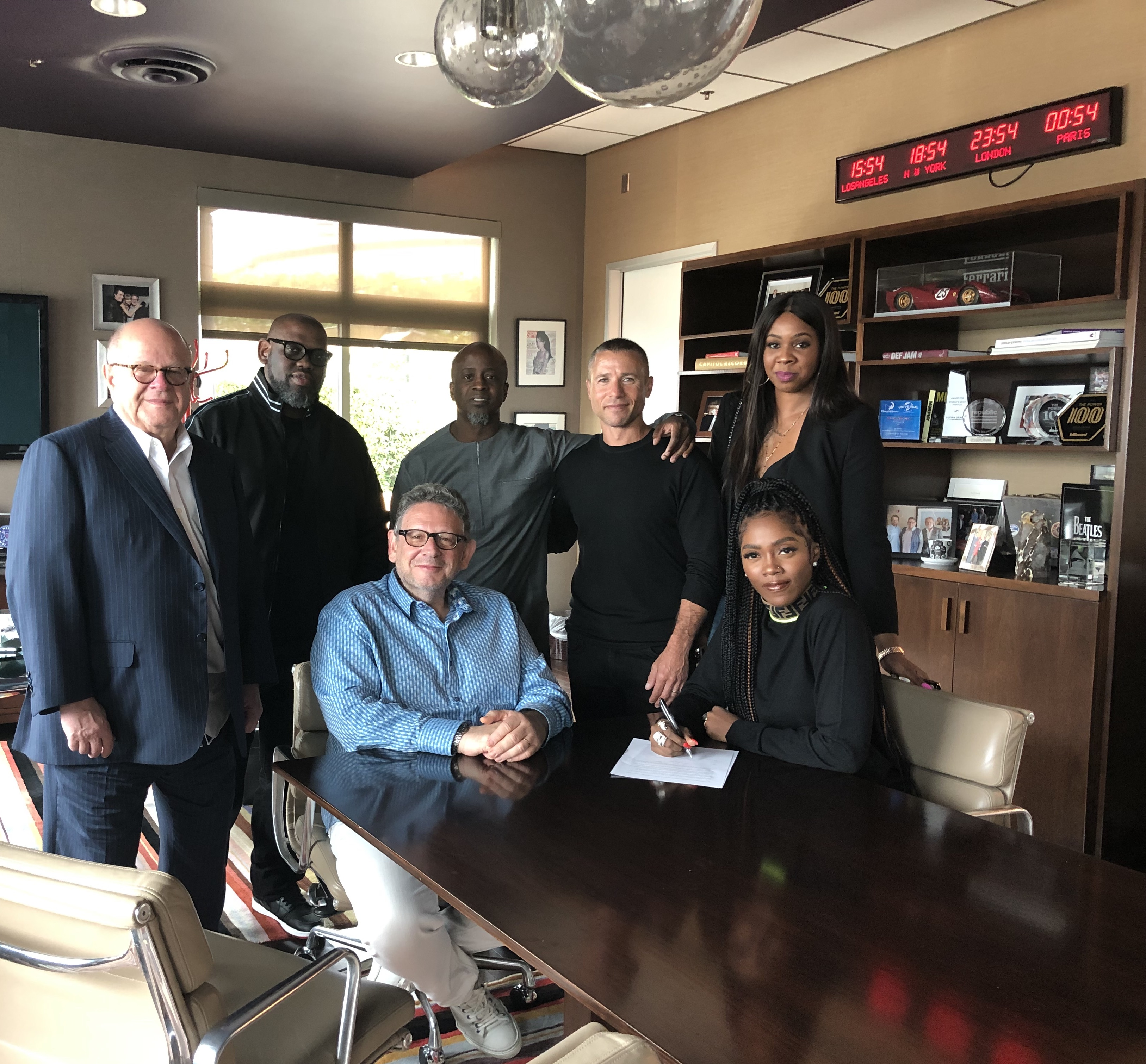 TIWA SAVAGE SIGNS EXCLUSIVE INTERNATIONAL DEAL WITH UNIVERSAL MUSIC GROUP