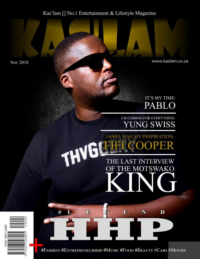 cover HHP Kaslam Magazine 792x1024 - The last interview of a Legend ft Hugo │HHP