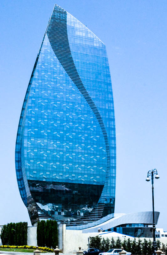 Azersu Tower in 2016 - A destination for the inquisitive: Baku
