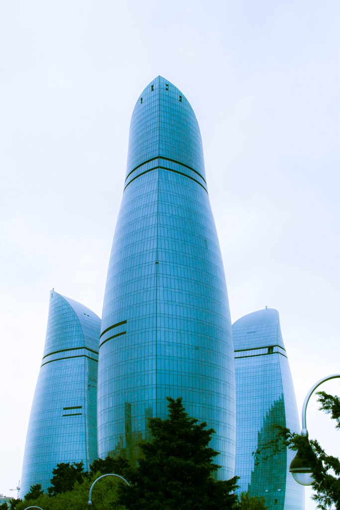 Flame Towers in 2015 683x1024 - A destination for the inquisitive: Baku