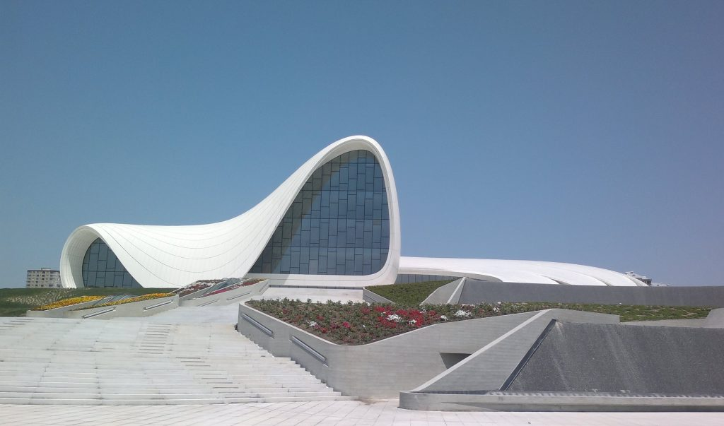 Heydar Aliyev Cultural Center 1024x603 - A destination for the inquisitive: Baku