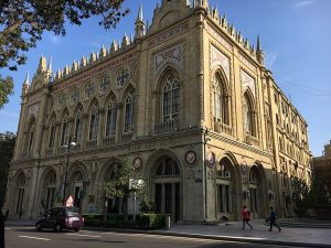 A destination for the inquisitive: Baku