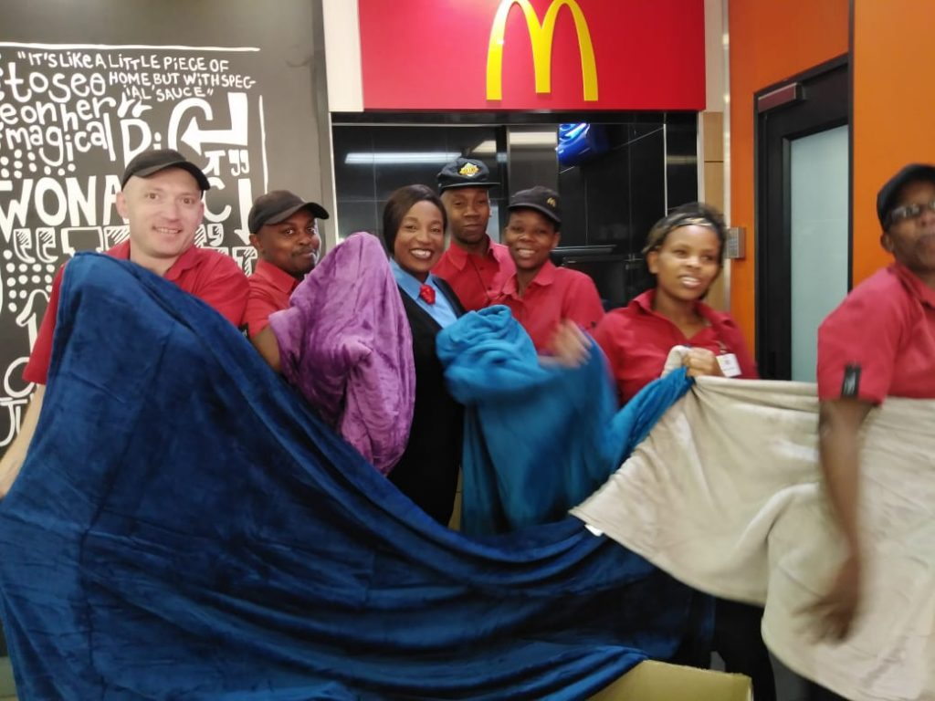 IMG 20190701 WA0017 1024x768 - Spread the warmth, Spread the lovin │McDonald's Blanket Drive