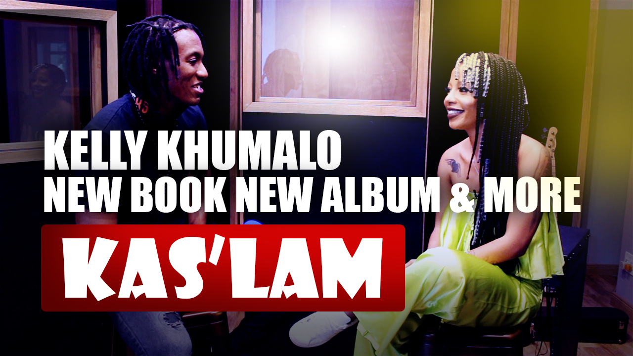 WATCH: Kelly Khumalo talks about New Book and New album