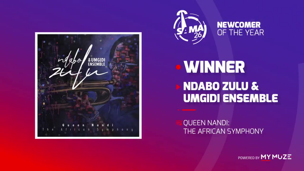 Ndabo Zulu & Umgidi Ensemble wins at SAMA 26