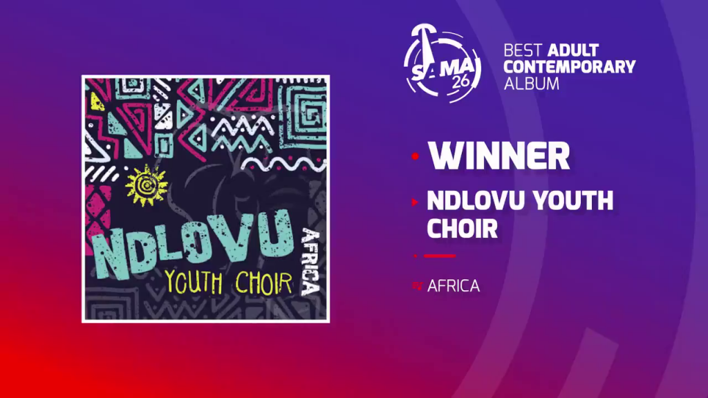 Ndlovu Youth Chior wins at The SAMA Awards 2020