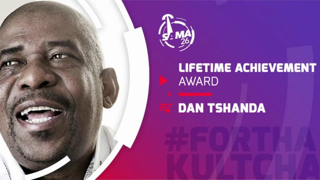 Dan Tshanda wins at the SAMA Awards 2020
