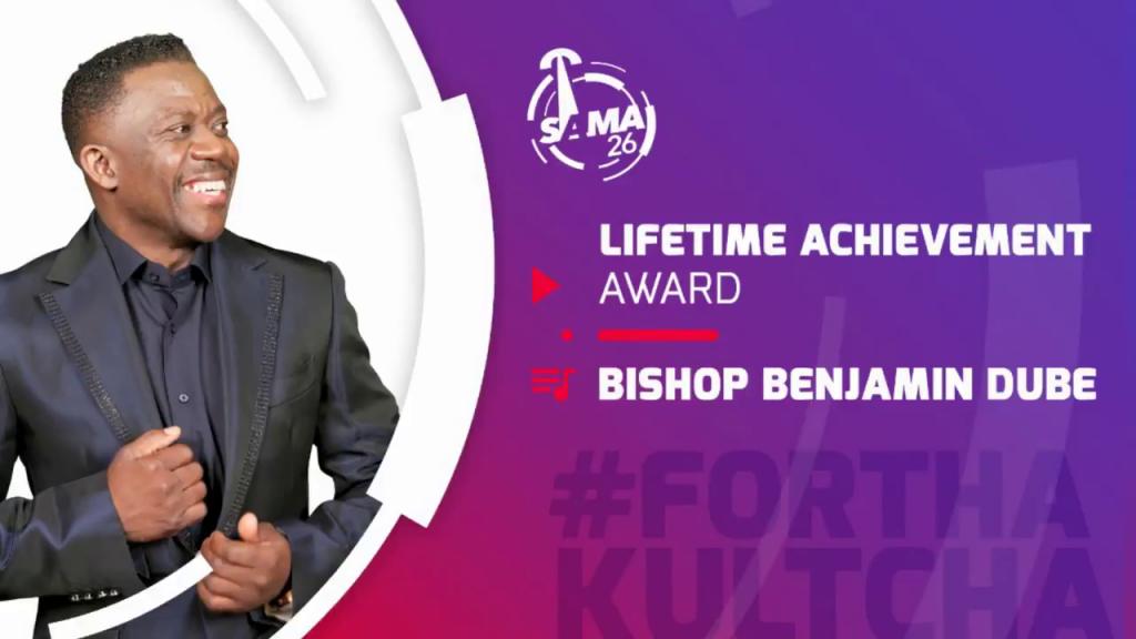 Bishop Benjamin Dube wins at the SAMA Awards 2020