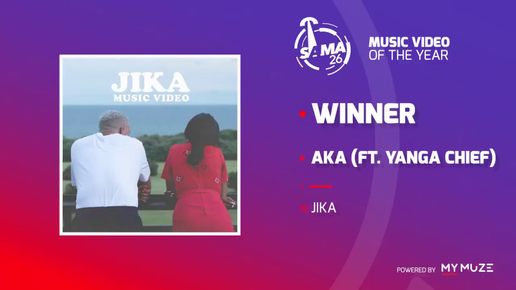 AKA wins at the SAMA Awards 2020