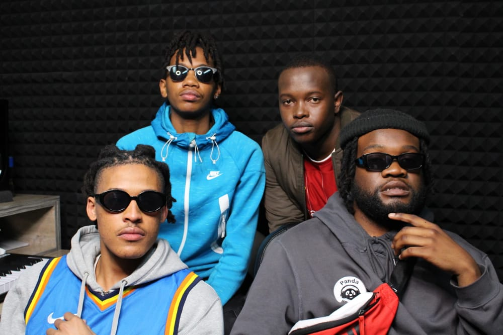 Image of Hip-Hop Group The Set