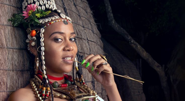 Sho Madjozi at Miss South Africa 2020