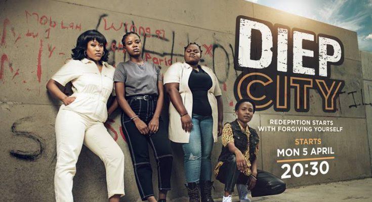 Dawn Thandeka King, Nozuko Ncayiyane and Mduduzi Mabaso lead a cast of stars in DiepCity
