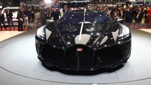 The most expensive car in the world: Bugatti la voiture noire