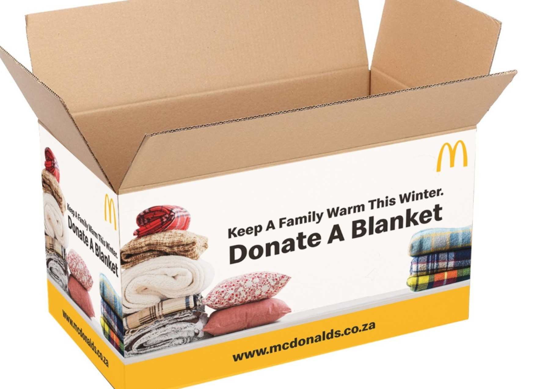 Spread the warmth, Spread the lovin │McDonald's Blanket Drive