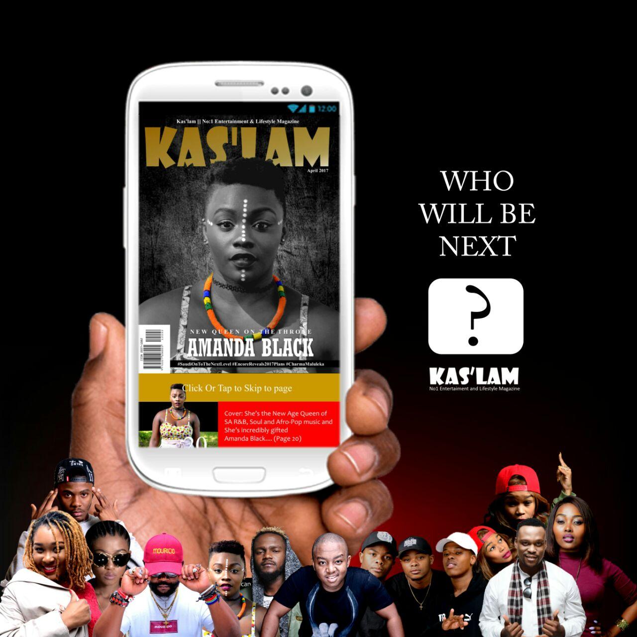 Kas'lam Magazine stars